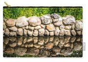 Stone Wall Reflection Carry-all Pouch