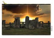 Stonehenge Wiltshire Uk Carry-all Pouch
