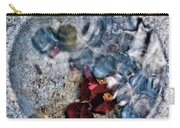 Stones And Fall Leaves Under Water-41 Carry-all Pouch