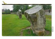 Stones At Avebury Carry-all Pouch