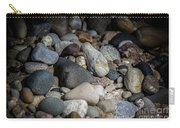 Stones On Beach Carry-all Pouch