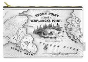 Stony Point Map, 1779 Carry-all Pouch by Granger