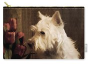 Stop And Smell The Flowers Carry-all Pouch by Edward Fielding