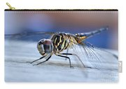Stop By Tiger Dragon Fly Carry-all Pouch by Peggy Franz