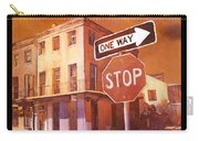 Stop- French Quarter Ahead Carry-all Pouch