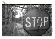 Stop Sign Carry-all Pouch