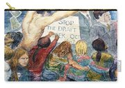 Stop The Draft Mural Berkeley Ca 1977 Carry-all Pouch