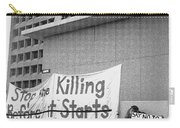 Stop The Killing Say No To Israel Anti-war Protestors Tucson Arizona 1991 Carry-all Pouch