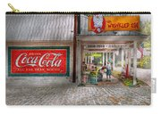 Store Front - Life Is Good Carry-all Pouch by Mike Savad
