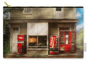 Store Front - Waterford Va - Waterford Market  Carry-all Pouch by Mike Savad