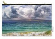 Storm Across The Channel Carry-all Pouch