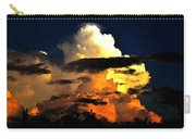 Storm At Dusk Carry-all Pouch by David Lee Thompson