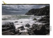 Storm At Gulliver's Hole Carry-all Pouch by Marty Saccone