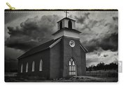 Storm At San Rafael Church Carry-all Pouch