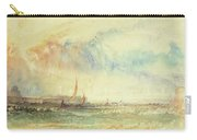 Storm At Sunset, Venice, C.1840 Carry-all Pouch