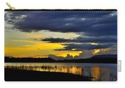 Storm At The Lake Carry-all Pouch