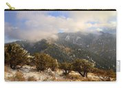 Storm Atop Oquirrhs Carry-all Pouch by Chad Dutson