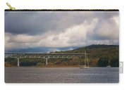 Storm Brewing Over Rip Van Winkle Bridge Carry-all Pouch