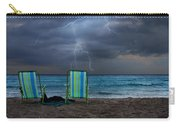 Storm Chairs Carry-all Pouch by Laura Fasulo