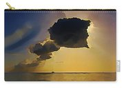 Storm Cloud Over Calm Waters Carry-all Pouch by John Malone