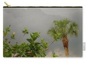 Storm Clouds And Flowers Carry-all Pouch