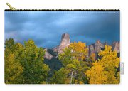 Storm Clouds Over Chimney Rock Carry-all Pouch
