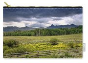 Storm Clouds Over The Rockies Carry-all Pouch