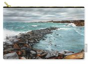 Storm In Rockport Harbor Carry-all Pouch