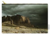 Storm In The Superstitions Carry-all Pouch