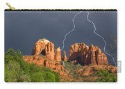 Storm Over Cathedral Rock Carry-all Pouch
