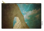 Storm Over Etretat Carry-all Pouch by Loriental Photography