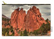 Storm Over Red Rocks Carry-all Pouch