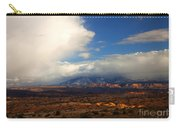 Storm Over The La Sals Carry-all Pouch