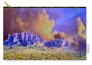 Storm Over The Superstitions Carry-all Pouch