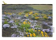 Storm Over Wildflowers Carry-all Pouch