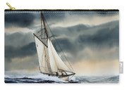 Storm Sailing Carry-all Pouch by James Williamson