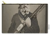 Storm Trooper Star Wars Antique Photo Carry-all Pouch by Tony Rubino