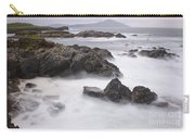 Storm Waves And Cliffs Carry-all Pouch