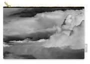 Storms Aloft B W Carry-all Pouch