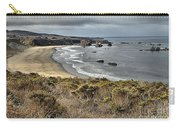 Storms Over An Unspoiled Beach Carry-all Pouch