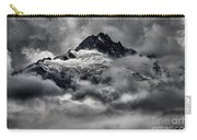 Storms Over Glaciers And Rugged Peaks Carry-all Pouch