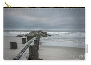 Stormy Beach Forcast Carry-all Pouch
