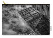 Stormy Clouds Over Modern Building Carry-all Pouch