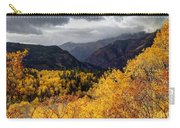 Stormy Fall Along The Alpine Loop - Utah Carry-all Pouch