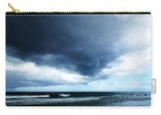 Stormy - Gray Storm Clouds By Sharon Cummings Carry-all Pouch by Sharon Cummings