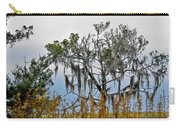 Stormy Marsh Cedar Tree Carry-all Pouch