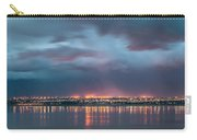 Stormy Night Lights Carry-all Pouch