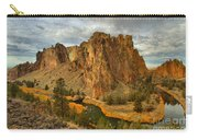 Stormy Over Smith Rock Carry-all Pouch