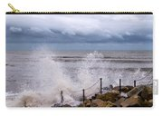 Stormy Seafront  Carry-all Pouch