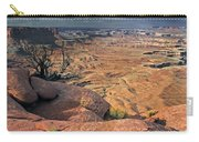 Stormy Skies In Canyonlands Carry-all Pouch